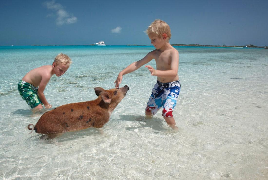 YCM Yacht Charter to Exumas, Bahamas