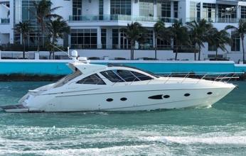 54' Azimut YCM. Yacht Charters of Miami