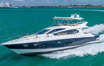 70' Sunseeker Flybridge