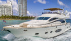 Yacht Charters of Miami. Yacht Charters in Miami. 84' Joyce Flybridge