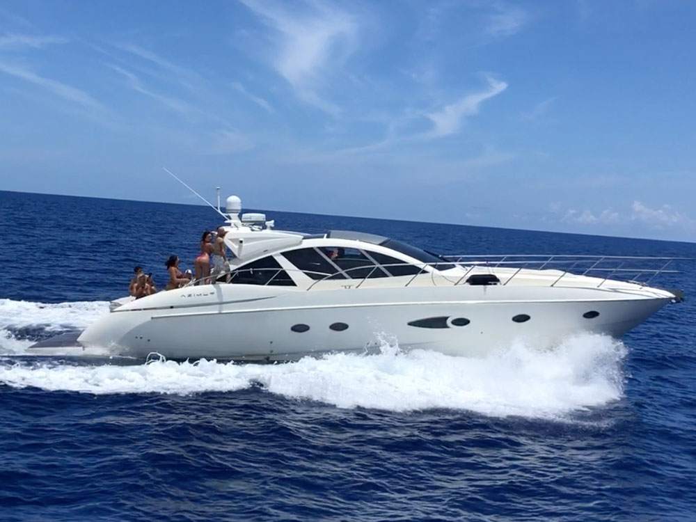 Yacht Charters of Miami. Yacht Charters in Miami. 54' Azimut Atlantis SOL