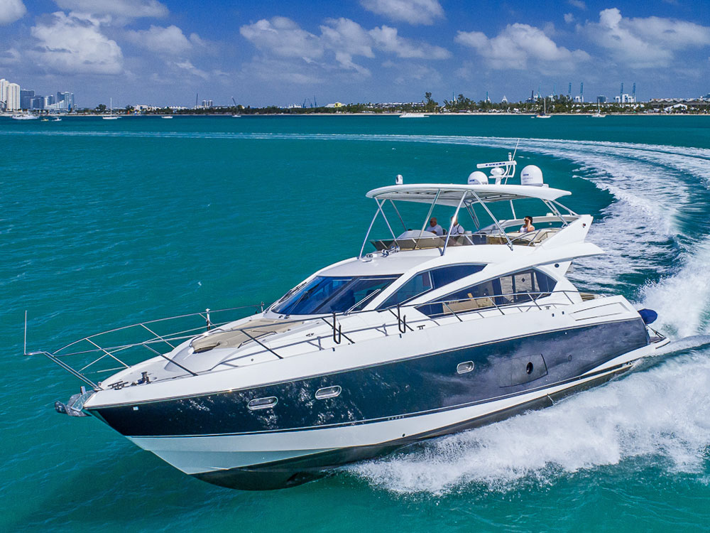 Yacht Charters of Miami. Yacht Charters in Miami. 70' Sunseeker Manhattan Loan Shark