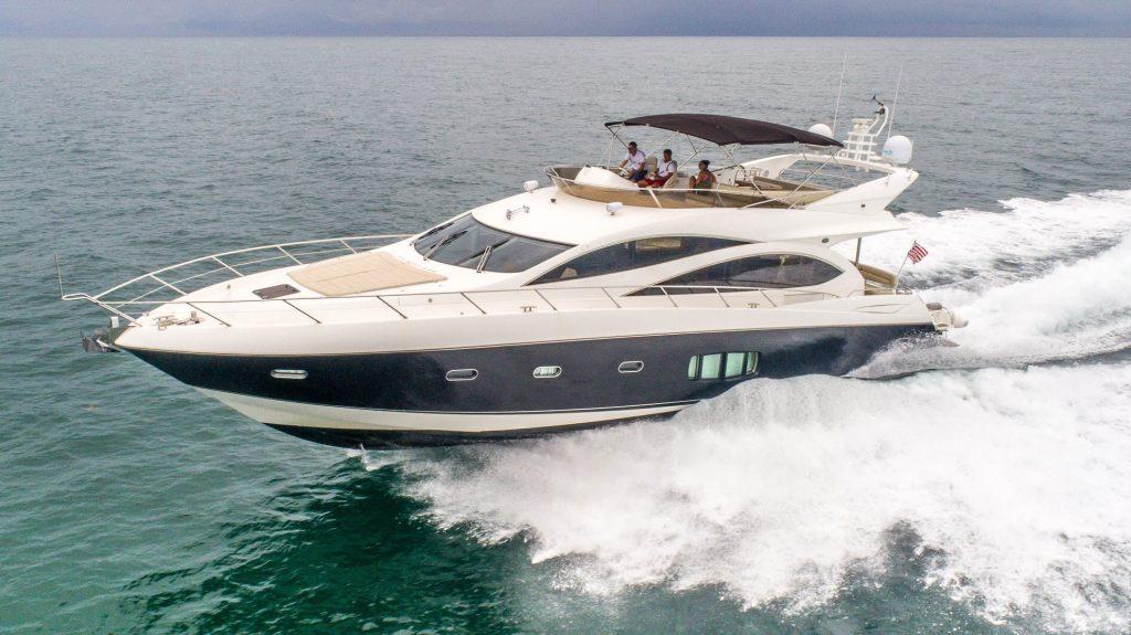 80′ Ferretti Yacht