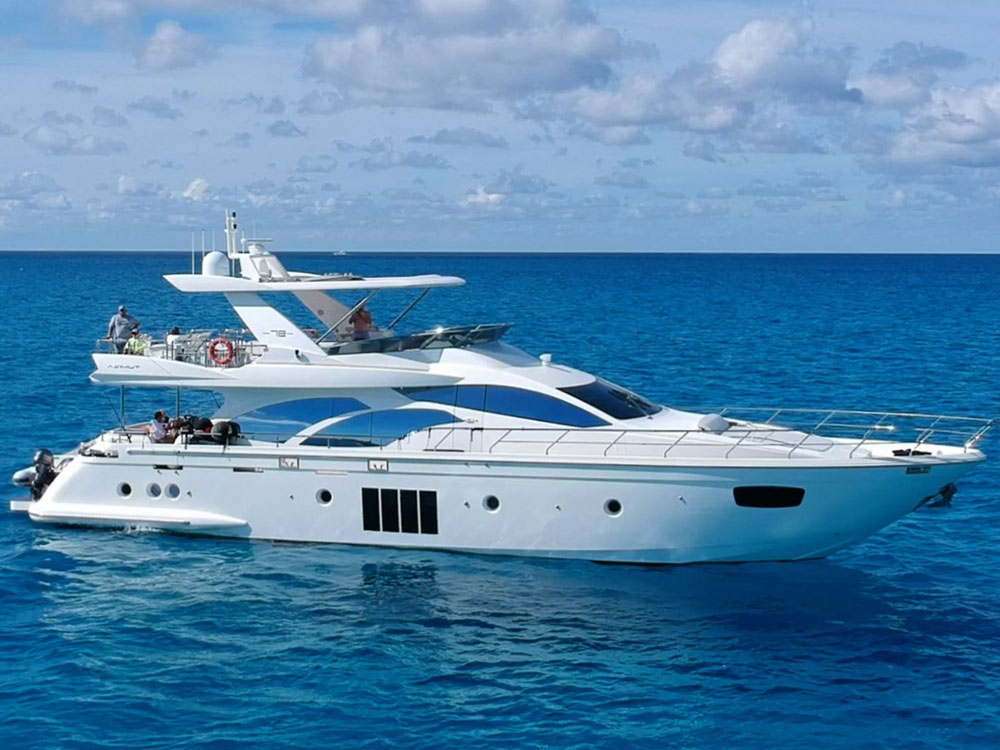 Yacht Charters of Miami. Yacht Charters in Miami. 78' Azimut