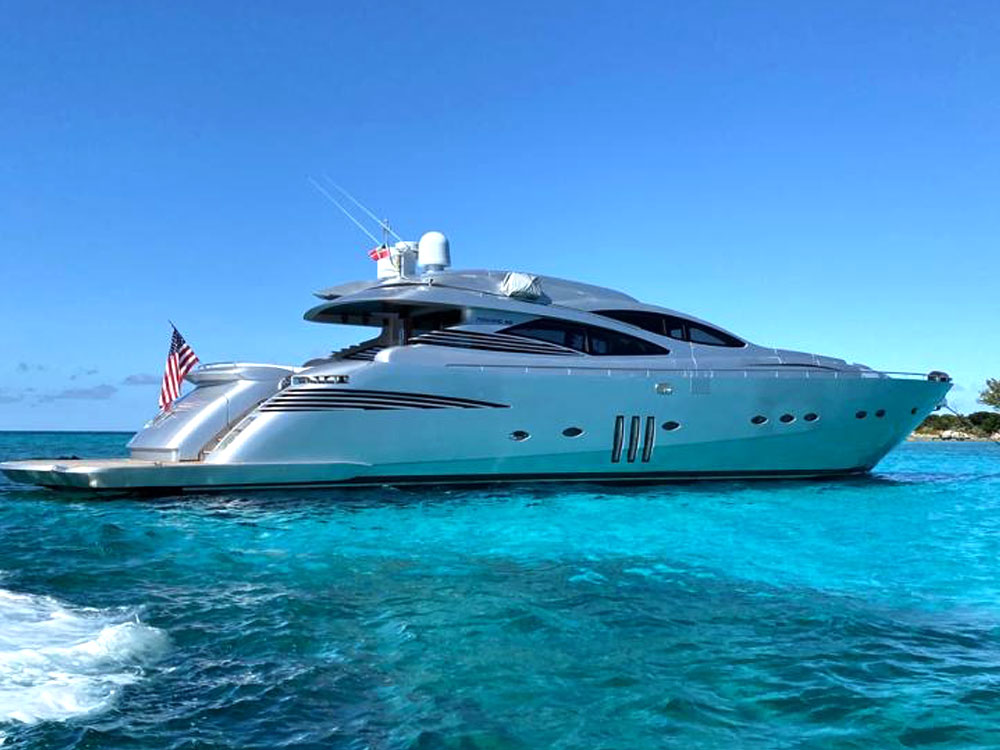 Yacht Charters of Miami. Yacht Charters in Miami. 90' Pershing YCM90